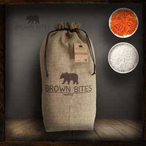 Comida para perros ecológica - Salmón y Arroz - bolsa 10kg